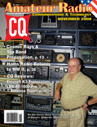 Amateur radio 2008 sweepstakes contest