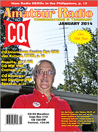 CQ's January 2014 issue
