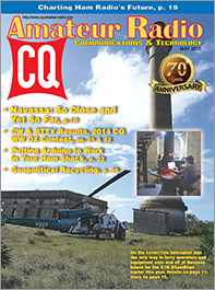 CQ May 2015 Cover