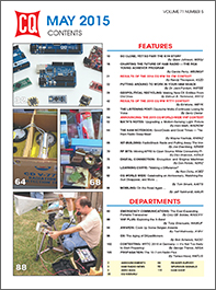 CQ May 2015 Table of Contents