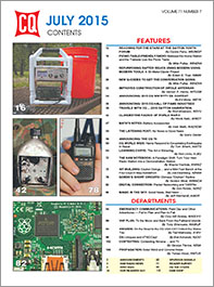 CQ July 2015 Table of Contents