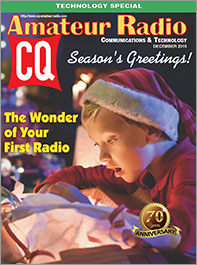 CQ December 2015 Cover